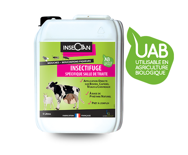 Insectan Specific Insect Repellent Milking Room 5L
